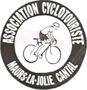 Un vélo : logo association cyclotouriste de Maurs