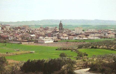 la ville de Los Arcos