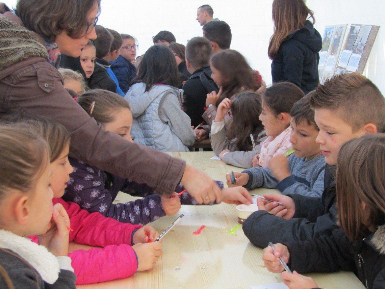 Dégustation de glaces artisanales ''Les Délices de Bersagol'' pour les Écoliers